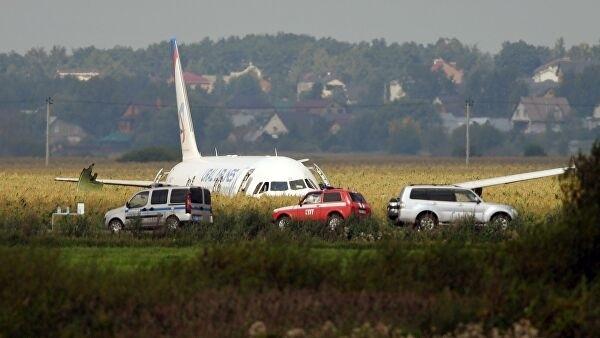 В результате жесткой посадки самолета в Подмосковье пострадали дети из Тамбова