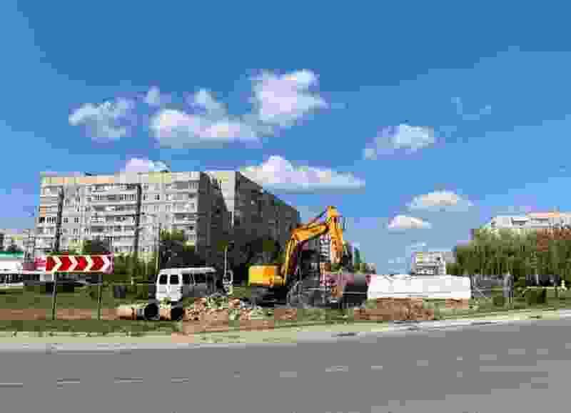 В Тамбове на Рылеева из-за перекладки теплосети на неделю ограничат подачу горячей воды