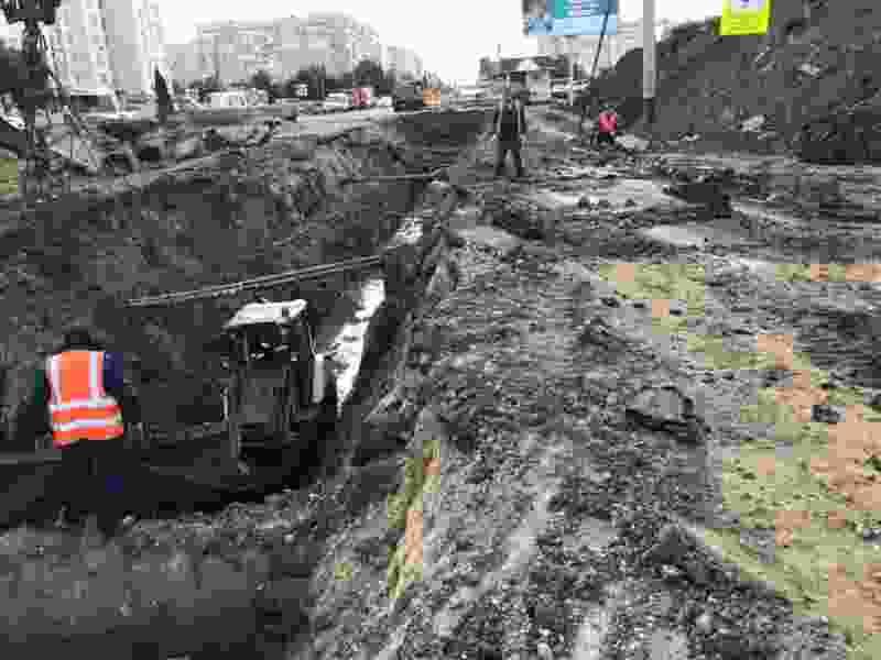 В Тамбове ограничение движения по улице Рылеева продлили ещё на две недели