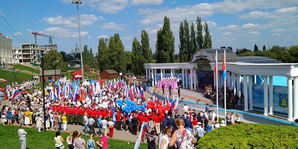 В Тамбове отпраздновали День государственного флага России