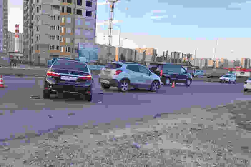 В Тамбове при тройном ДТП на севере города пострадали двое молодых людей