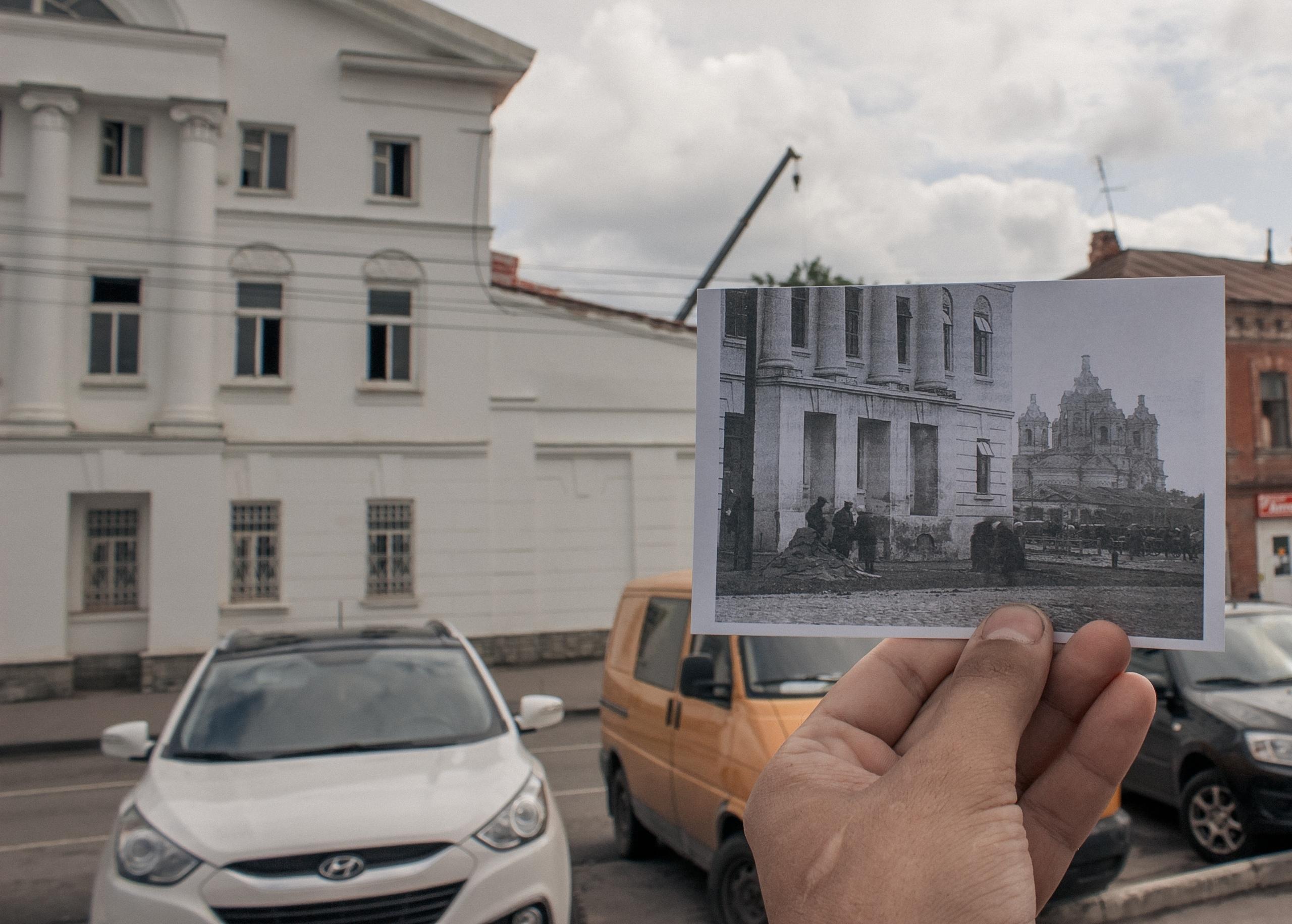 В Тамбове прошла первая экскурсия для фотографов и моделей