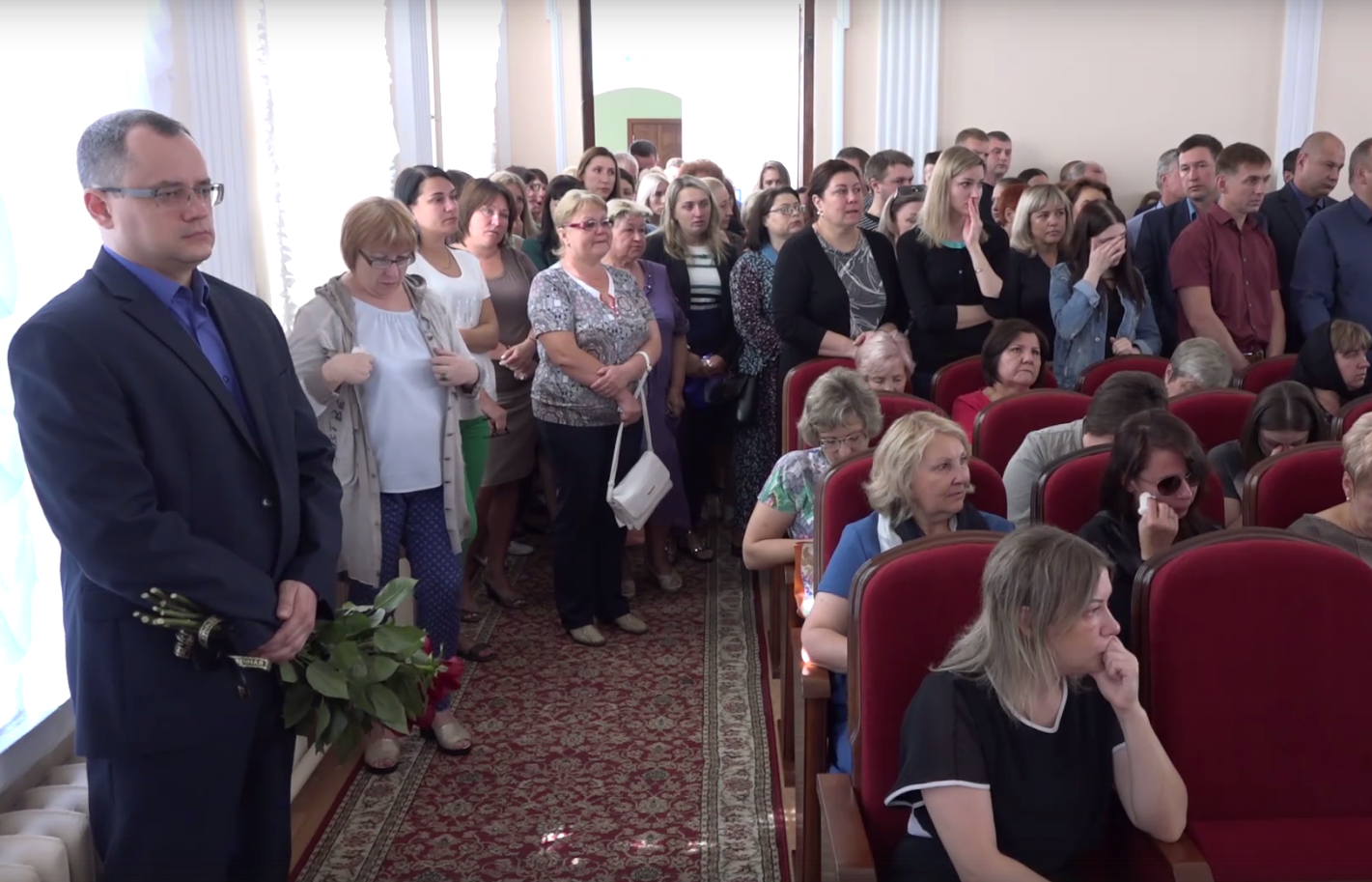 В Тамбове простились с замглавы администрации города Алексеем Ануфриевым