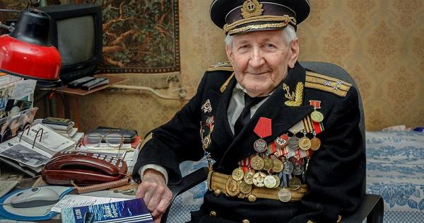 ВТамбове умер старейший подводник планеты