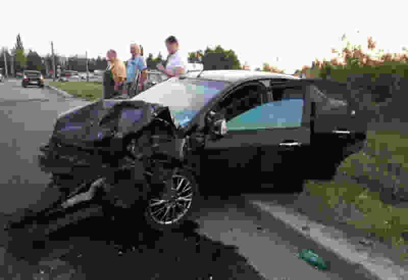 В Тамбове в тройном ДТП пострадали четыре человека, среди которых годовалый малыш