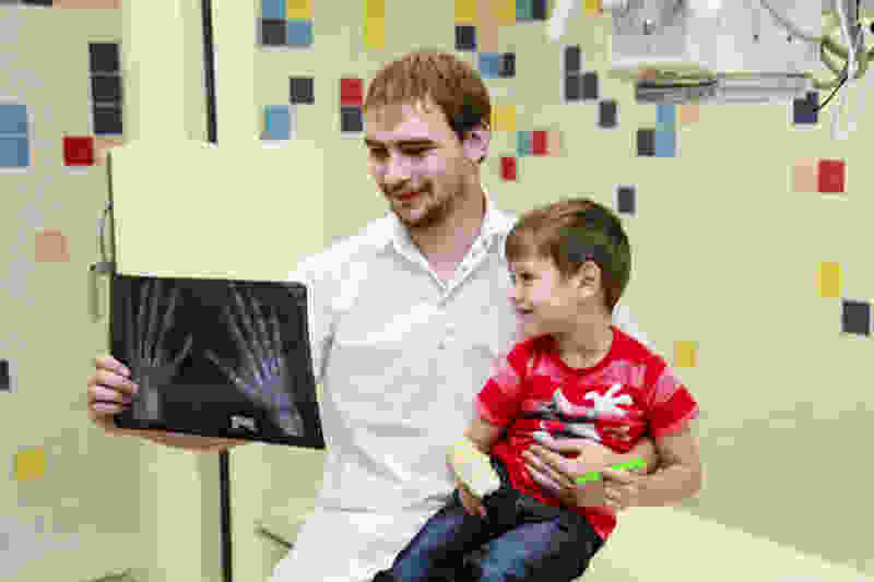 В Тамбовские детские медучреждения завезли новые рентген-аппараты
