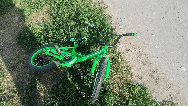 """В Тамбовском районе """"четверка"""" сбила малыша на велосипеде"""