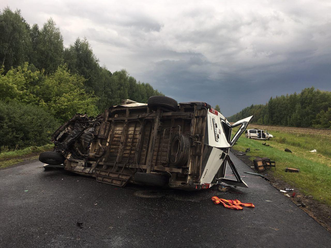 В жутком ДТП в Мордовском районе погибли пять человек