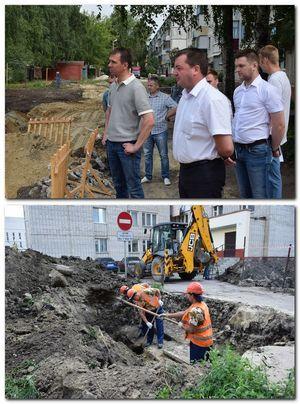 Восстановление благоустройства в местах разрытий на контроле администрации города