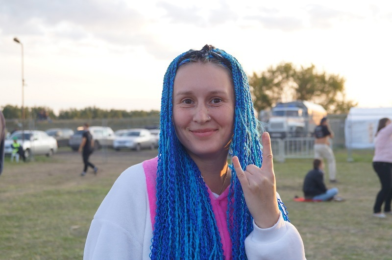Яркие девушки тамбовского рок-фестиваля «Чернозём»