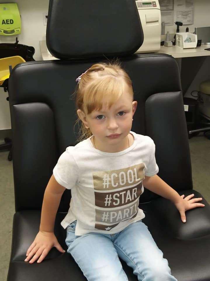 Арине Ларьковой из Умёта Тамбовской области вернули слух в Калифорнийской клинике