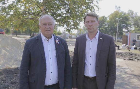 Глава Котовска поздравил Александра Никитина с четырехлетием со дня избрания на пост губернатора