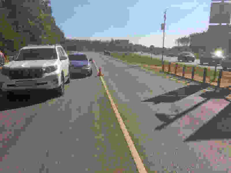 На трассе в Тамбовской области легковушка врезалась во внедорожник: пострадал мужчина
