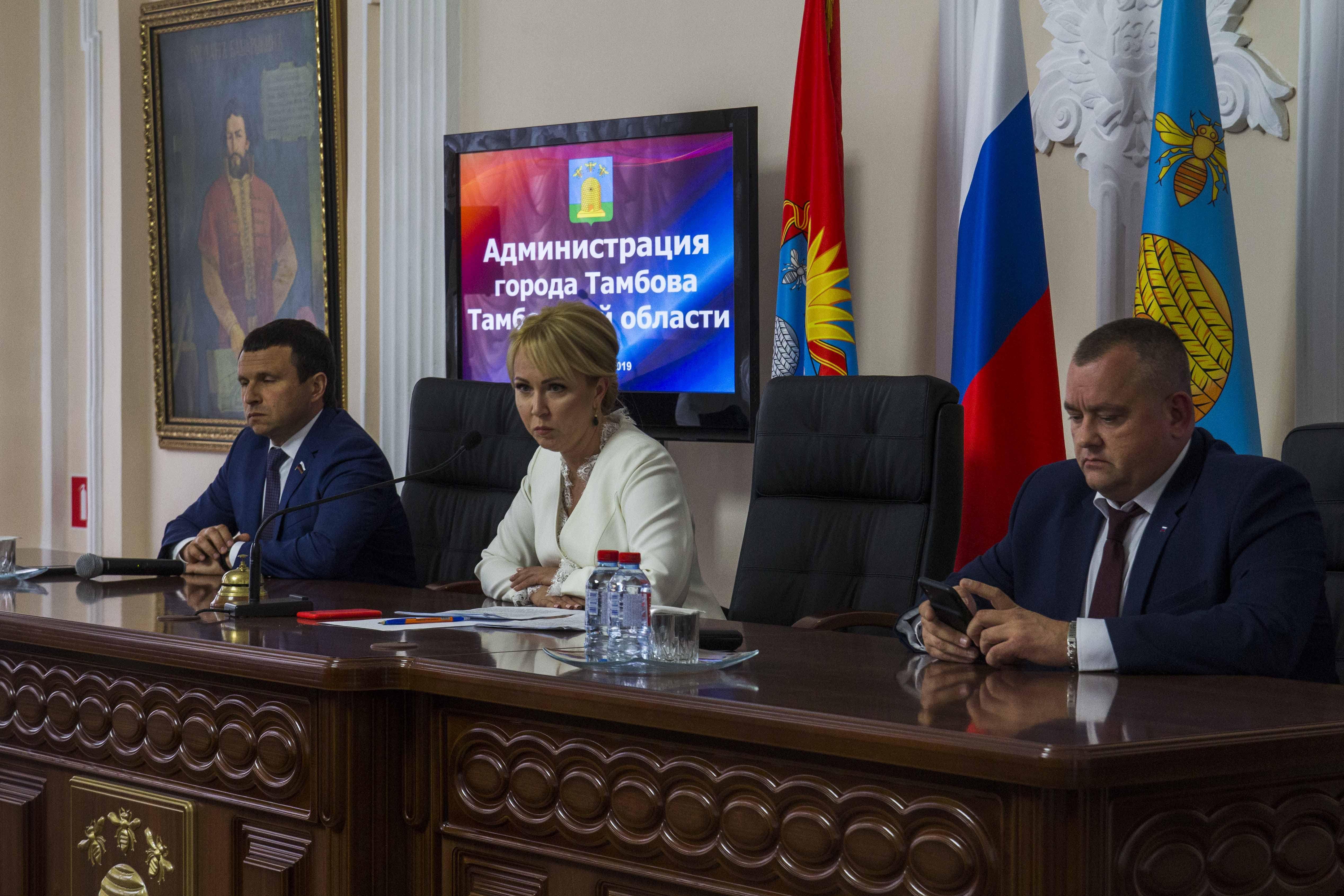 Новый глава Тамбова назначила своим первым замом Дмитрия Самородина и попросила городских чиновников забыть про нормированный рабочий день