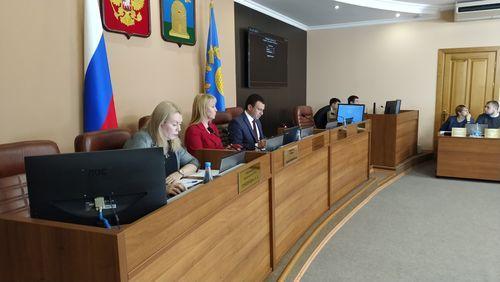 Об итогах 62 – го очередного заседания Тамбовской городской Думы Тамбовской области