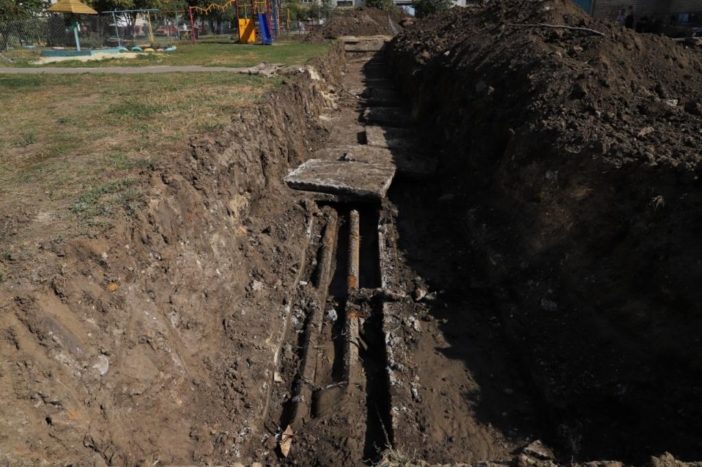 Работы по замене сетей теплоснабжения обещают выполнить к 1 октября