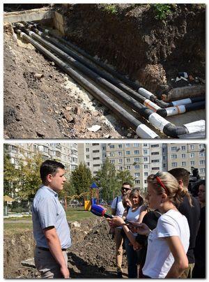 Ремонтные работы на тепловых сетях будут завершены 30 сентября