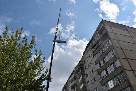 Рухнувшую крышу дома на Рылеева отремонтируют к концу декабря