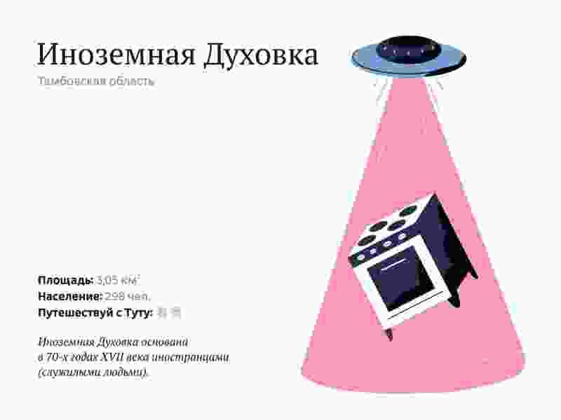 Солдатская Духовка Тамбовской области может стать самым смешным топонимом России