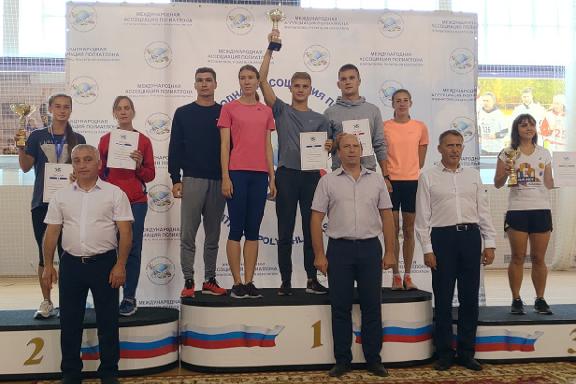 Тамбовские полиатлонисты успешно выступили на мировых соревнованиях