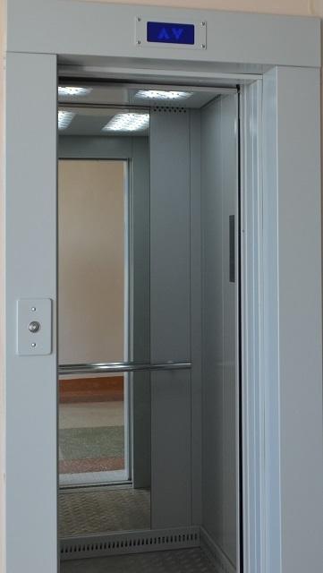 В четвертой городской больнице Тамбова ввели в эксплуатацию новые лифты