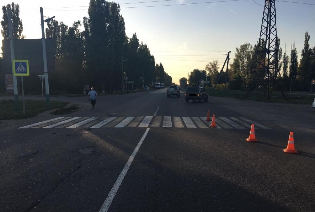 """В Мичуринске водитель """"Нивы"""" сбил женщину на пешеходном переходе"""