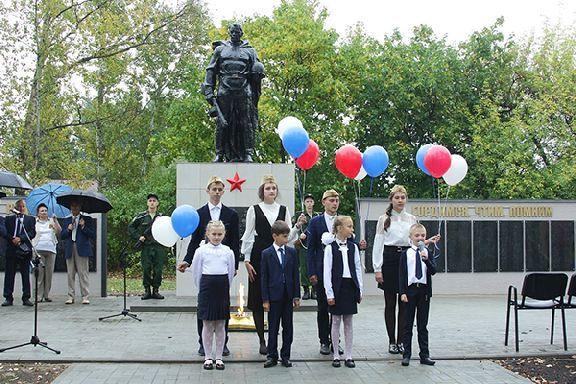 В Моршанском районе открыли третий за год мемориал воинам Великой Отечественной войны