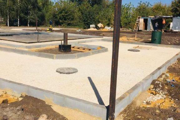 В Петровском районе ведется строительство ФАПа