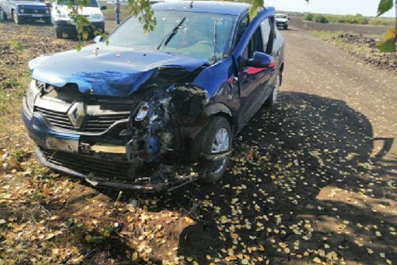 В Ржаксинском районе водитель трактора спровоцировал ДТП