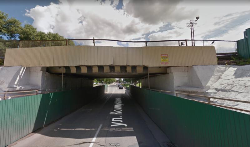 В Тамбове изменилась схема движения автобусов в связи с ремонтом путепровода на Коммунальной