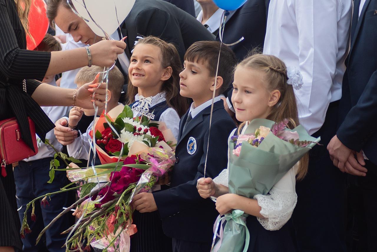 В Тамбове прошли торжественные линейки, посвящённые Дню знаний