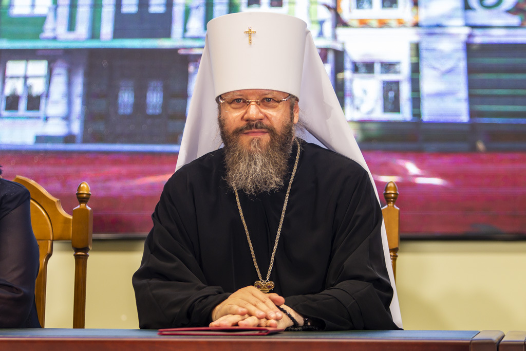В Тамбове торжественно открыли и освятили новый корпус духовной семинарии