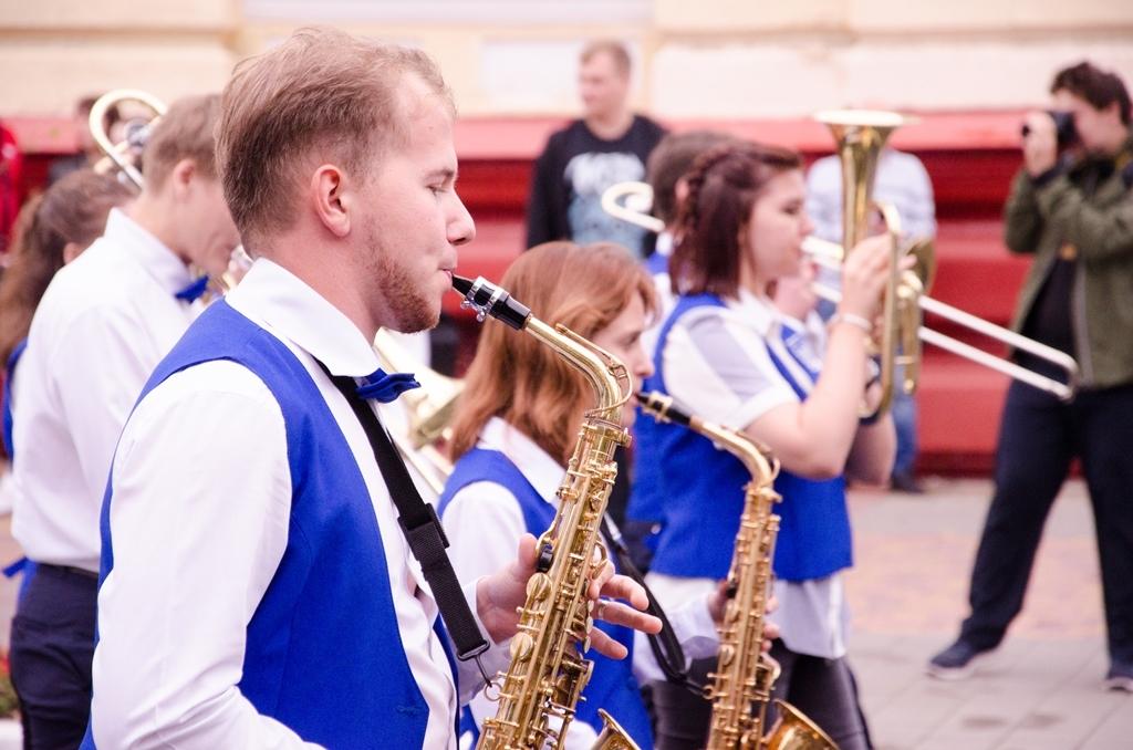 В Тамбове в четвёртый раз прошёл парад студенчества