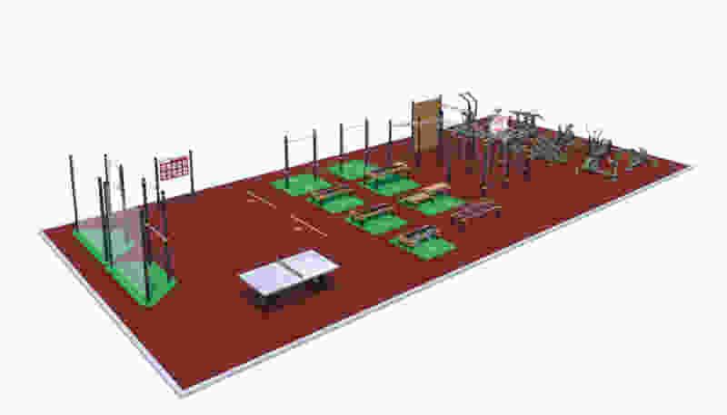 В Тамбовской области до конца года построят 10 спортплощадок для выполнения комплекса ГТО
