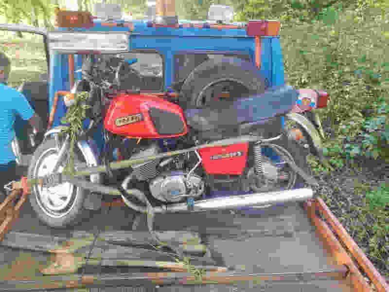 В Тамбовской области после столкновения с опорой линии электропередач погиб мотоциклист