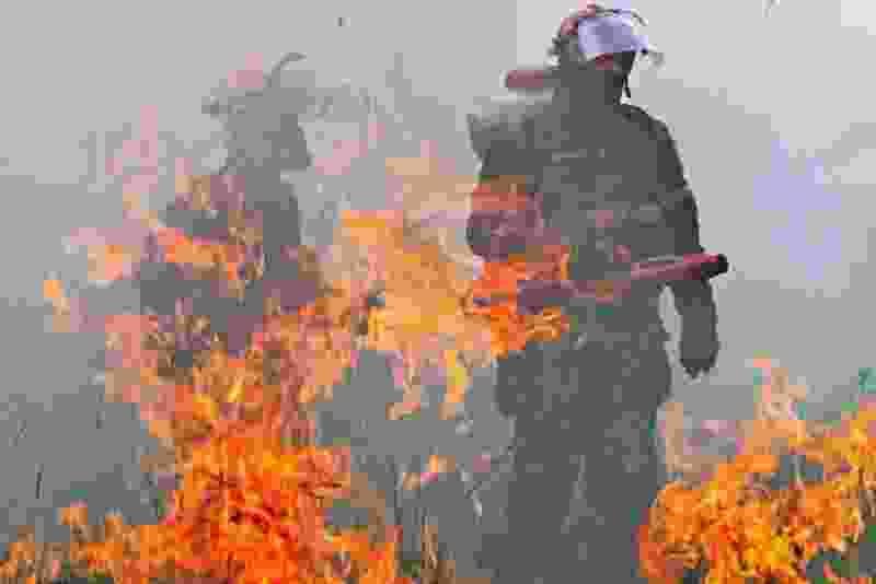 В Тамбовской области введён пятый класс пожарной опасности
