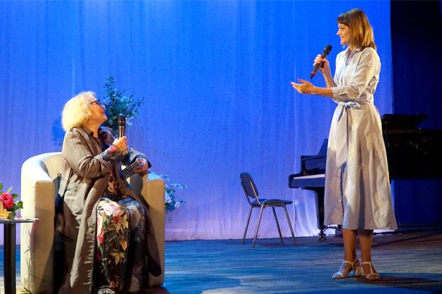 В тамбовском госуниверситете имени Державина с творческим вечером выступила Валентина Талызина