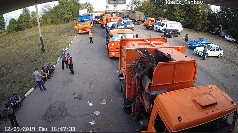 В Тамбовском районе эвакуировали мусороперерабатывающий комплекс после обнаружения в отходах устройства, похожего на мину