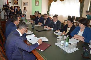 Владимир Салмин встретился сглавой администрации Тамбовской области