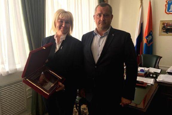 Замминистра спорта РФ высоко оценила работу по созданию спортивной инфраструктуры в Тамбове