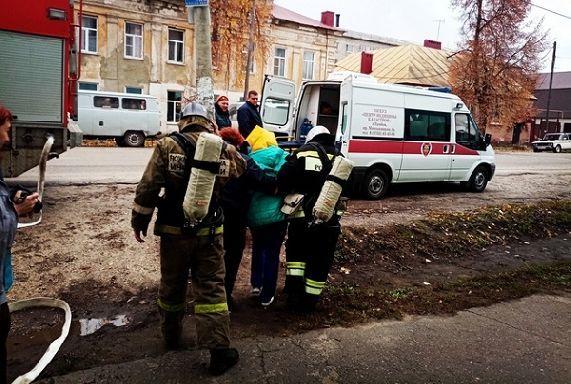 Из детской поликлиники Моршанска эвакуировали пациентов и персонал
