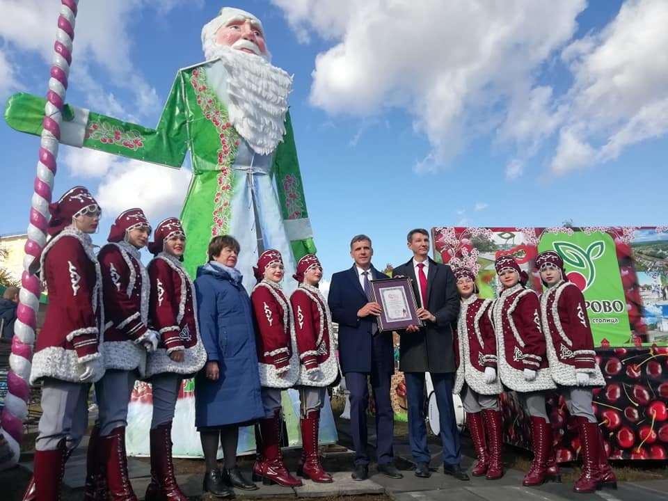 На Покровской ярмарке в Тамбове установили новый рекорд
