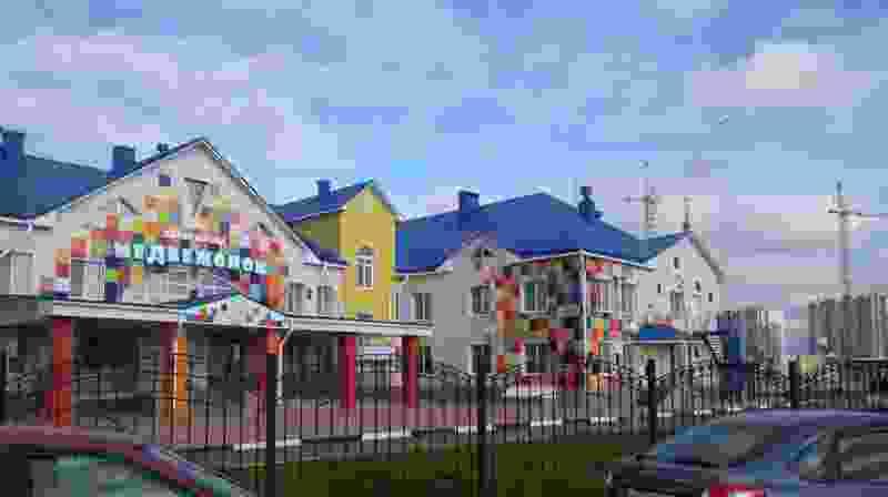 На севере Тамбова открылся новый детский сад