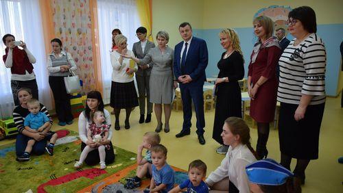 Наталия Макаревич приняла участие в открытии нового детского сада «Медвежонок»