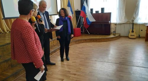 Представители Департамента Мозель договорились о сотрудничестве между гимназией № 7 и колледжем Барбо