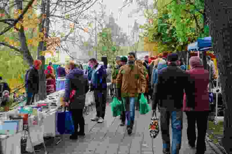 Шестиметровый Дед Мороз, похлёбка ведрами, тыква-гигант: в Тамбове прошла международная Покровская ярмарка