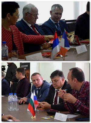 Тамбовские бизнесмены обсудили возможности сотрудничества с представителями Болгарии и Франции