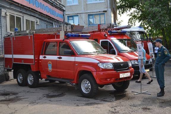 Тамбовский аэропорт купил пожарный аэродромный автомобиль