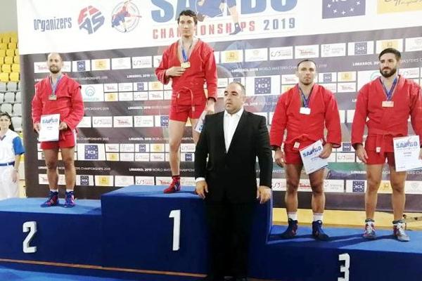 Тамбовский самбист стал третьим на мировом чемпионате среди ветеранов