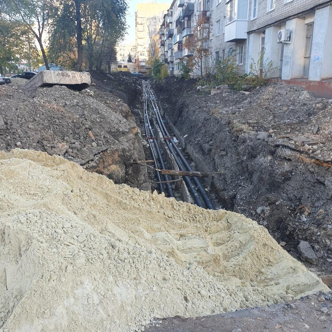 Территории после ремонта на теплосетях в Тамбове благоустроят до конца октября